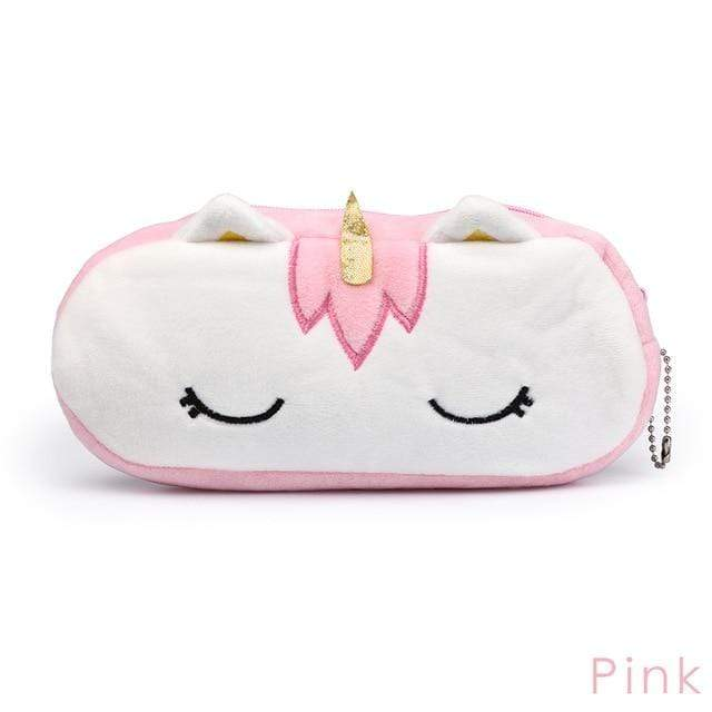 So Kawaii Shop Pink Unicorn Plush Organizer 25462649-pink