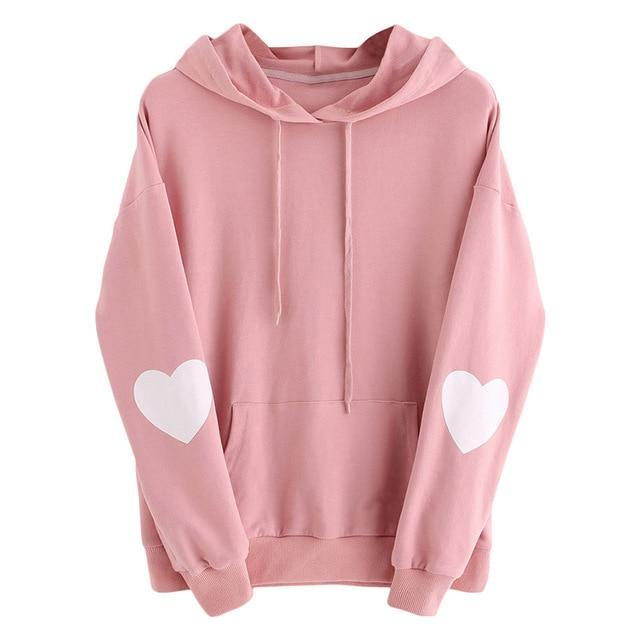 So Kawaii Shop Pink / XXL Kawaii Sweetheart Hoodie 24422058-pink-xxl