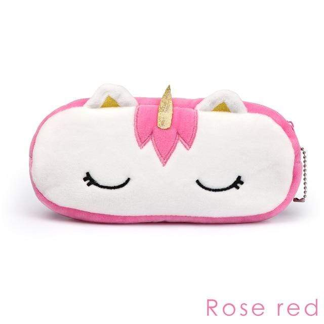 So Kawaii Shop Rose Red Bag Unicorn Plush Organizer 25462649-rose-red-bag