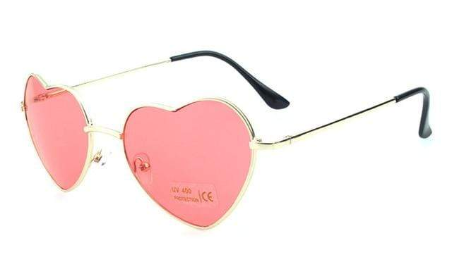 So Kawaii Shop rosy Oversized Heart Sunglasses FREE SHIPPING! 20139639-c15