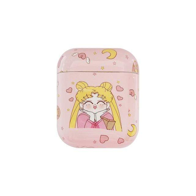 So Kawaii Shop Sailor Moon B Sailor Moon Pink Airpods Case 25452301-sailor-moon-b