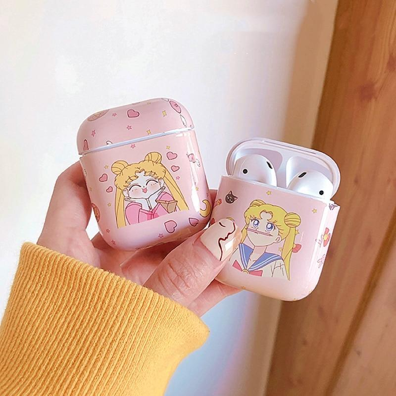 So Kawaii Shop Sailor Moon Pink Airpods Case