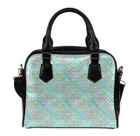 e-joyer Shoulder Handbags (1634) One size Kawaii Pastel Peridot Mermaid Scales Handbag D3823639
