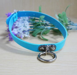 So Kawaii Shop Sky Blue Kawaii Sexy Punk Goth Choker 6979946-sky-blue