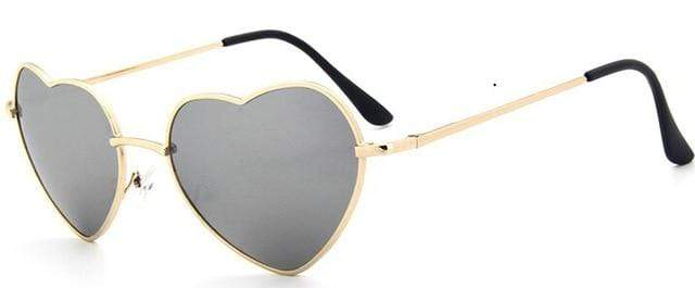 So Kawaii Shop smoke Oversized Heart Sunglasses FREE SHIPPING! 20139639-c10