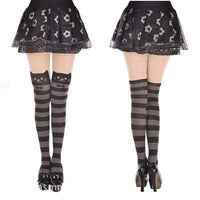 So Kawaii Shop Stripe Cat / One Size Kawaii Cat Tights 1744289-stripe-cat-one-size