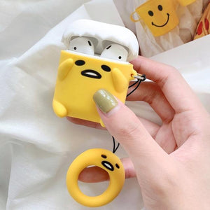 So Kawaii Shop Style 1 Kawaii Gudetama Apple Air Pods Case 27870279-style-1