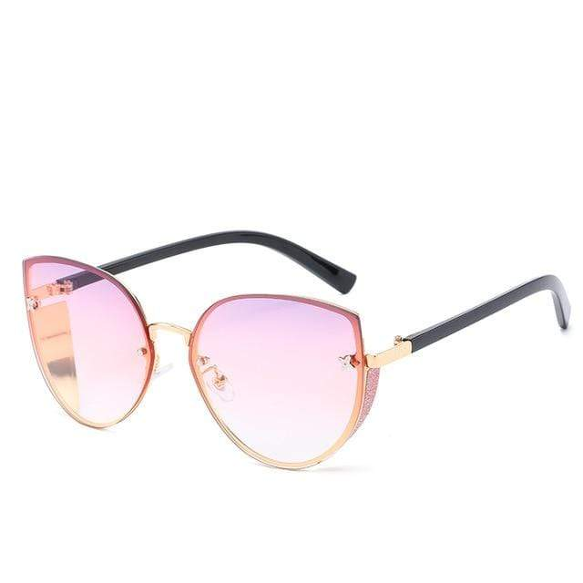 So Kawaii Shop sugar pink The Cute Vintage Cat Eye Sunglasses 24657442-7