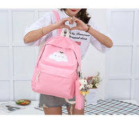 So Kawaii Shop Super-Kawaii Nylon Backpack and Travel Bag Set