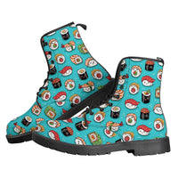 So Kawaii Shop Sushi Boots Leather Boots