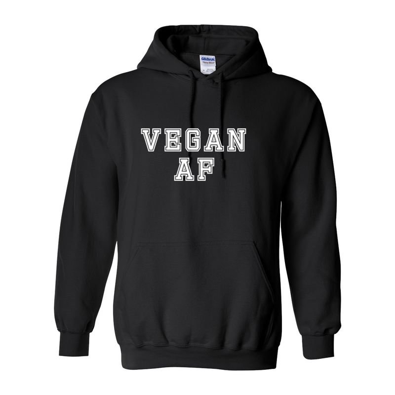 Print Melon Inc. Sweaters/Hoodies S / Black vegan af hoodie melon 424628