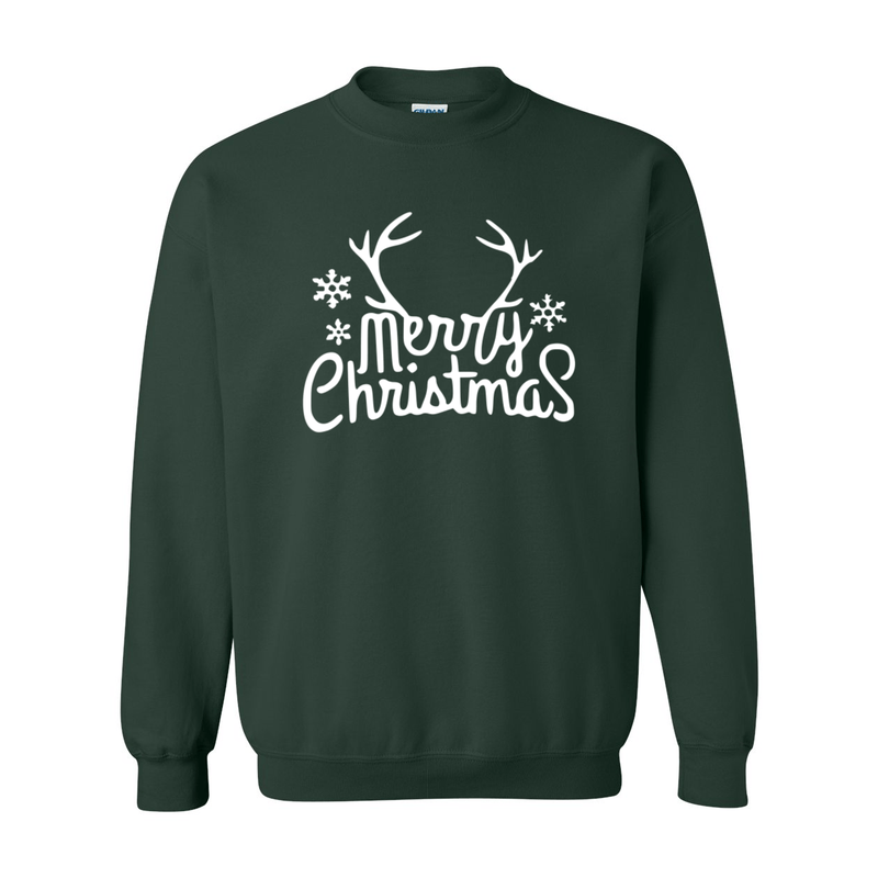 Print Melon Inc. Sweaters/Hoodies S / Forest merry antlers melon 398155