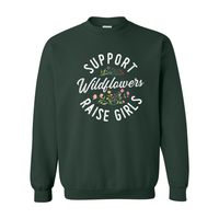 Print Melon Inc. Sweaters/Hoodies S / Forest support wildflowers sweat melon 407414