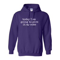 Print Melon Inc. Sweaters/Hoodies S / Purple give it my some hoodie melon 353828