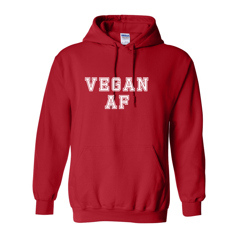 Print Melon Inc. Sweaters/Hoodies S / Red vegan af hoodie melon 424637