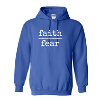 Print Melon Inc. Sweaters/Hoodies S / Royal faith over fear hoodie melon 474644