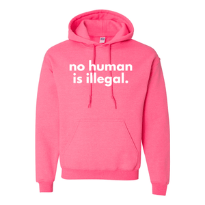 Print Melon Inc. Sweaters/Hoodies S / Safety Pink no human hoodie melon 353816