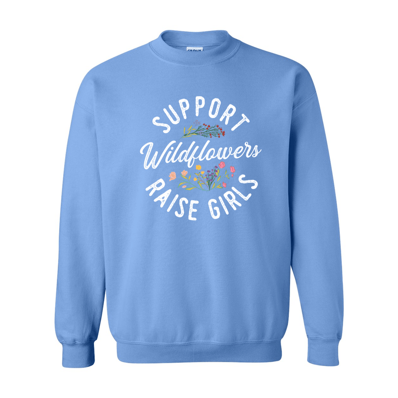 Print Melon Inc. Sweaters/Hoodies support wildflowers sweat melon