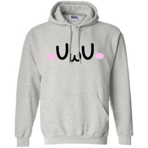 CustomCat Sweatshirts Ash / S The UwU Oversized Hoodie 541-4748-76219579-23071