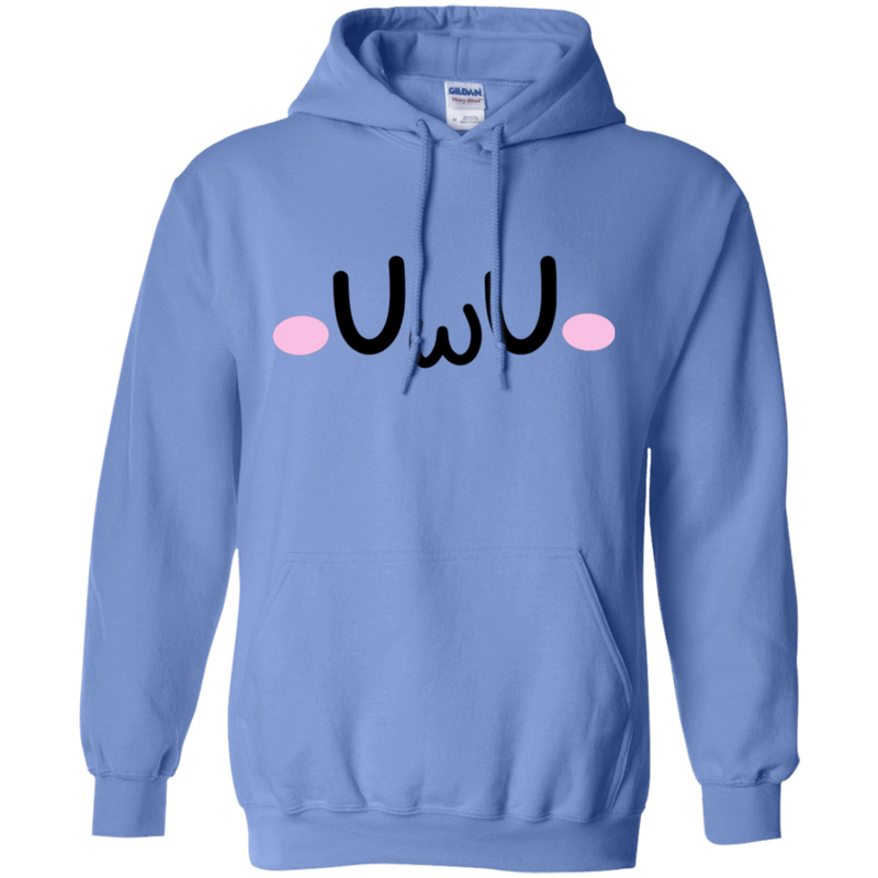 CustomCat Sweatshirts Carolina Blue / S The UwU Oversized Hoodie 541-4749-76219579-22998