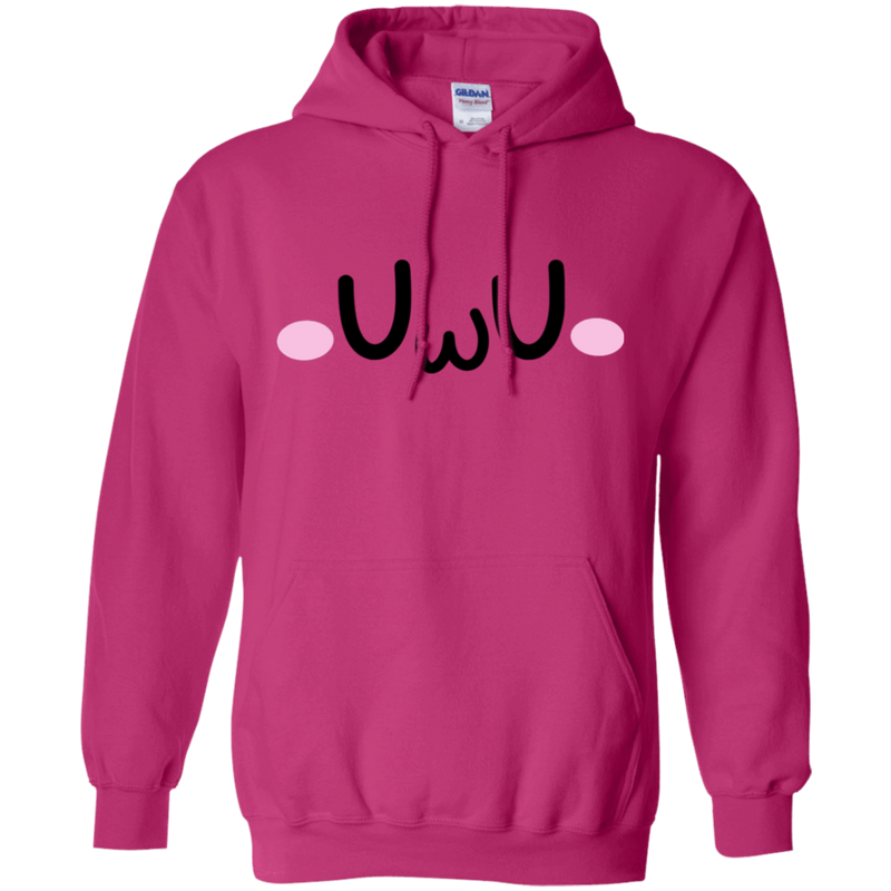 CustomCat Sweatshirts Heliconia / S The UwU Oversized Hoodie 541-4755-76219579-23031