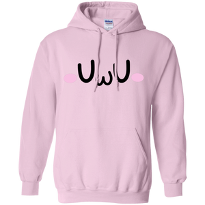 CustomCat Sweatshirts Light Pink / S The UwU Oversized Hoodie 541-4758-76219579-23151