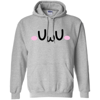 CustomCat Sweatshirts Sport Grey / S The UwU Oversized Hoodie 541-4741-76219579-23111