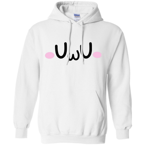 CustomCat Sweatshirts White / S The UwU Oversized Hoodie 541-4744-76219579-23183