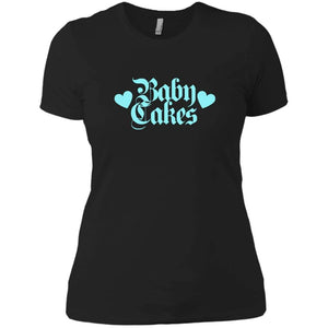 CustomCat T-Shirts Black / X-Small The Baby Cakes Tee in Blue 829-8316-78264403-39528