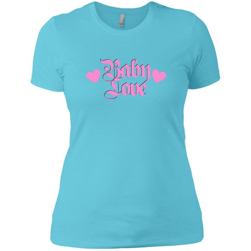 CustomCat T-Shirts Cancun / X-Small Baby Love Pink 829-10890-78264405-52911