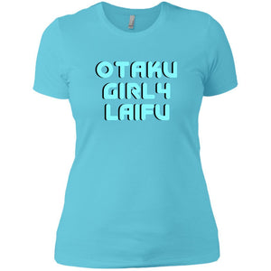 CustomCat T-Shirts Cancun / X-Small OtakuGirl4LifeBlue 829-10890-78264408-52911