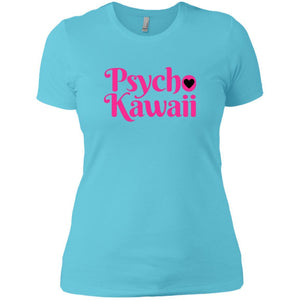CustomCat T-Shirts Cancun / X-Small Psycho Kawaii hot pink 829-10890-78264421-52911