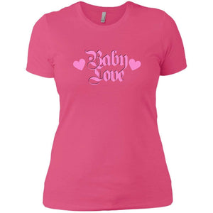 CustomCat T-Shirts Hot Pink / X-Small Baby Love Pink 829-8319-78264405-39576