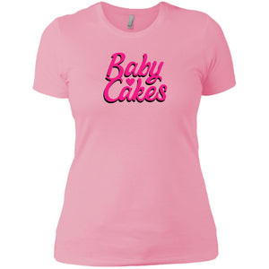 CustomCat T-Shirts Light Pink / X-Small Baby Cakes Script Pink 829-8322-78264430-39582