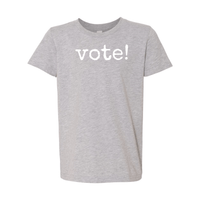 Print Melon Inc. T-Shirts S / Athletic Heather Youth Vote! Tee 262667