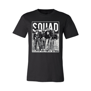 Print Melon Inc. T-Shirts S / Black Golden Squad 98423