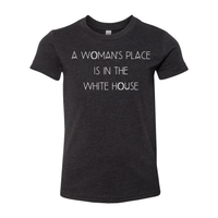 Print Melon Inc. T-Shirts S / Black Heather woman's place youth 358861
