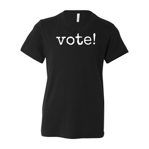 Print Melon Inc. T-Shirts S / Black Youth Vote! Tee 262666