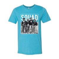 Print Melon Inc. T-Shirts S / Heather Aqua Golden Squad 98426