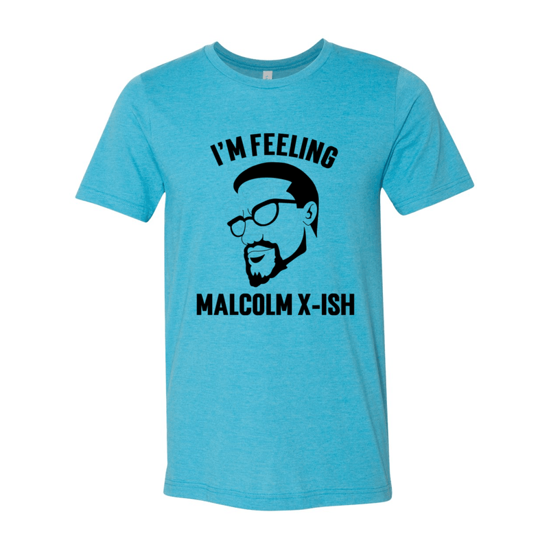 Print Melon Inc. T-Shirts S / Heather Aqua malcolm x black 102863