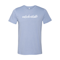 Print Melon Inc. T-Shirts S / Heather Blue unfuckwithable 99457