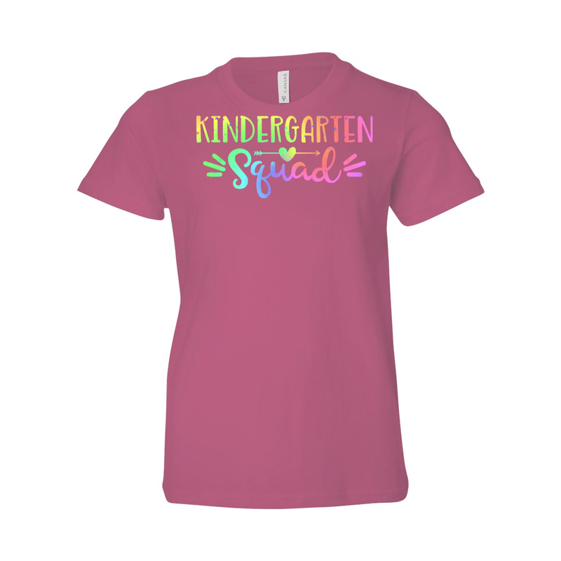 Print Melon Inc. T-Shirts S / Heather Mauve Kinder Squad Rainbow 213121