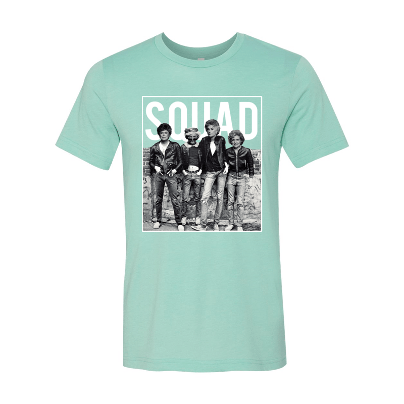 Print Melon Inc. T-Shirts S / Heather Mint Golden Squad 98425