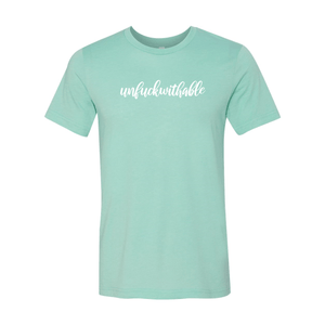 Print Melon Inc. T-Shirts S / Heather Mint unfuckwithable 99450