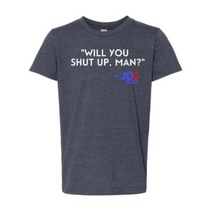 Print Melon Inc. T-Shirts S / Heather Navy will you shut up youth 327952