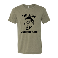 Print Melon Inc. T-Shirts S / Heather Olive malcolm x black 102864