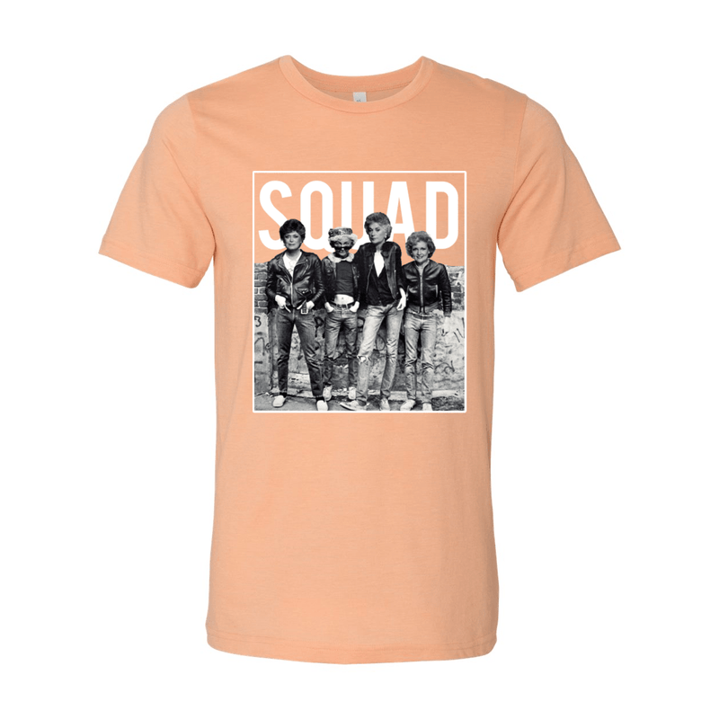 Print Melon Inc. T-Shirts S / Heather Peach Golden Squad 98438