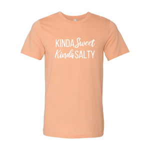 Print Melon Inc. T-Shirts S / Heather Peach kinda sweet kinda salty 98454