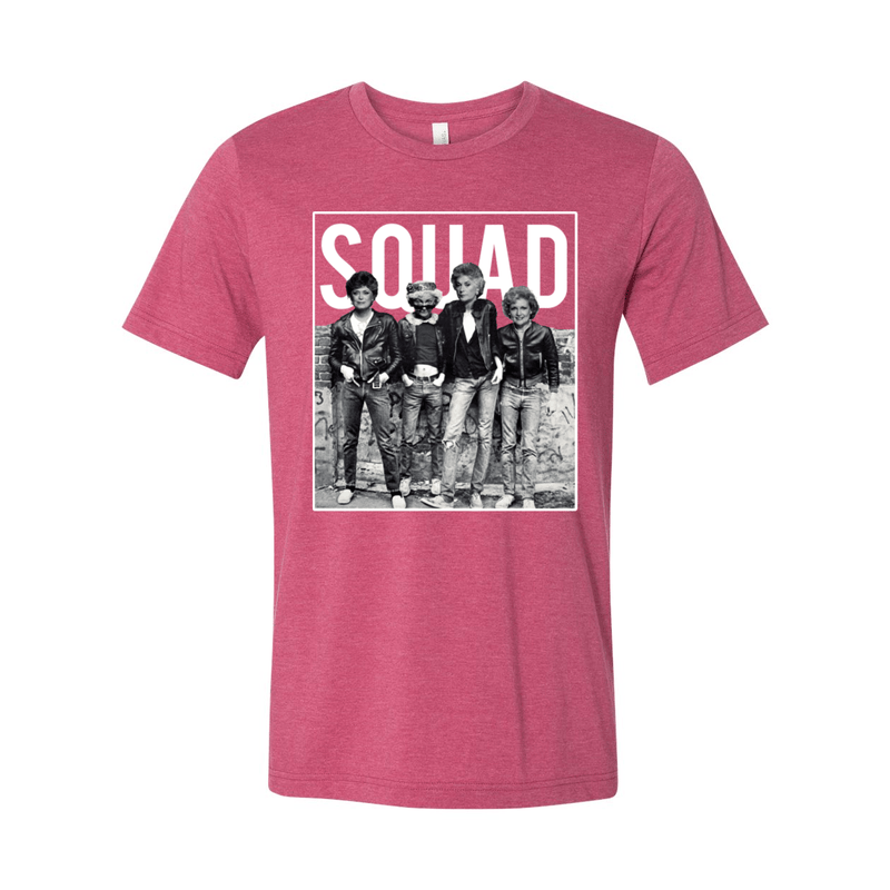 Print Melon Inc. T-Shirts S / Heather Raspberry Golden Squad 98437