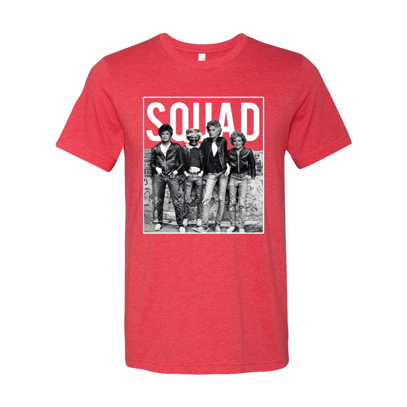 Print Melon Inc. T-Shirts S / Heather Red Golden Squad 98434